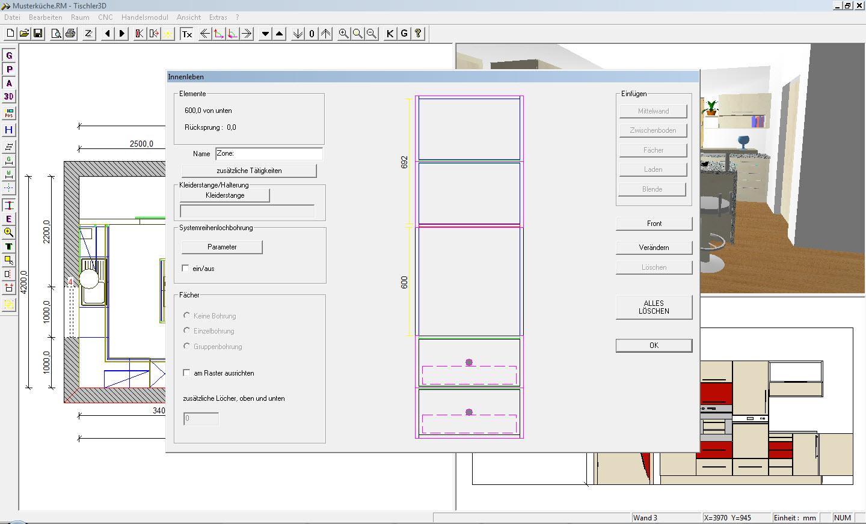 edv pichler tischler3d zeichenprogramm. Black Bedroom Furniture Sets. Home Design Ideas